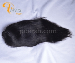 8A 1B Natural Black Color Straight Hair Unprocessed Raw Virgin Human Hair Full Lace Wig